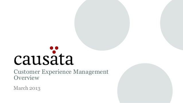 Causata Overview Presentation