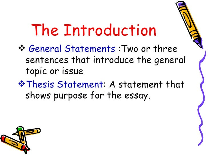 Two general type of essay