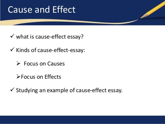 education causes effects essay