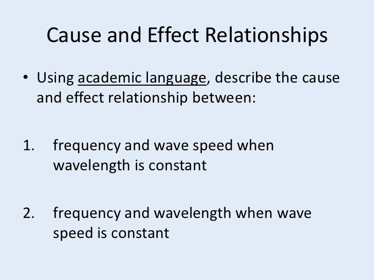 cause and effect relationships Find and save ideas about cause and effect relationship on pinterest | see more ideas about cause and effect, cause and effect activities and what are reading strategies.