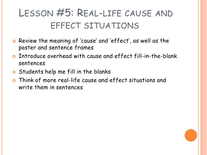 How to Write a Cause and Effect Essay pics