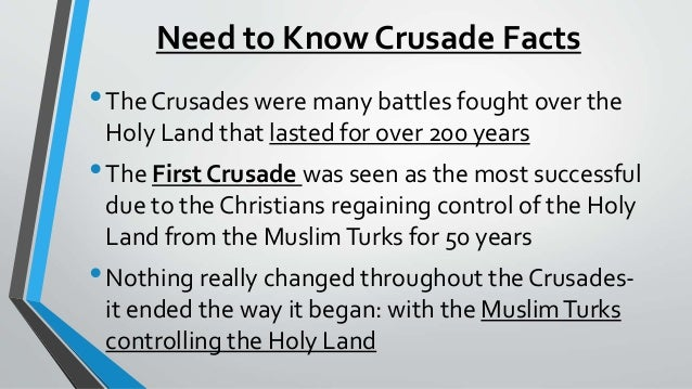 causes of the crusades essay Here is an essay i wrote about the crusades (some information is repeated in here from the rest of the site) blood of the holy lands the crusades are probably some of the bloodiest pages of history.