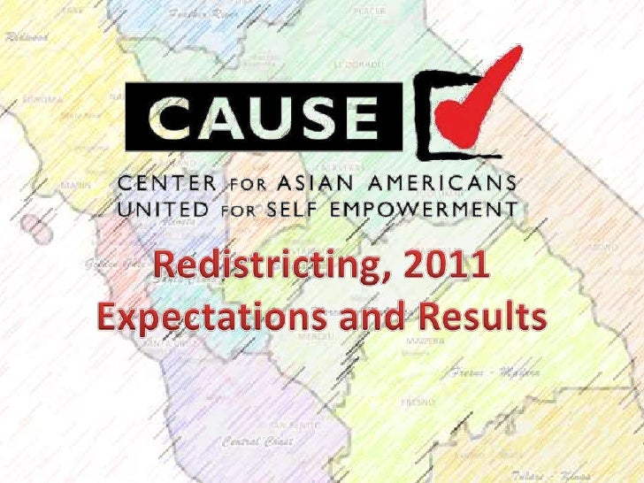 Redistricting, 2011<br />Expectations and Results<br />