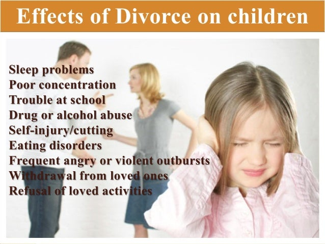 Adult divorce effects