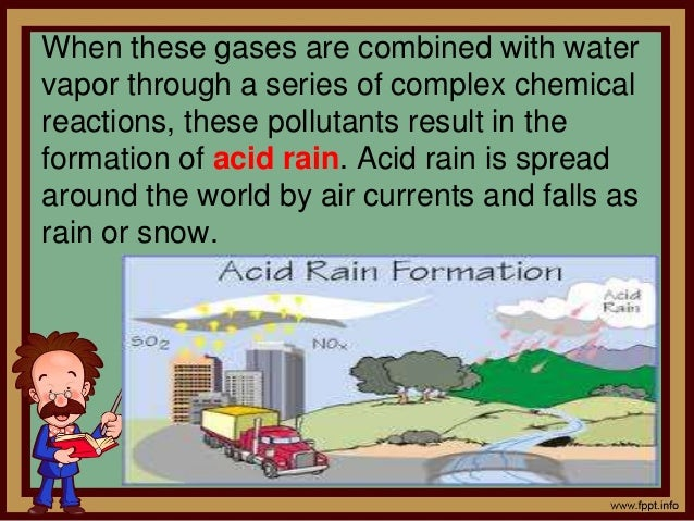 causes and effects of acid rain essay