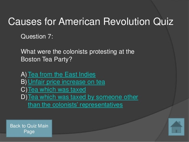 essays on the causes of the american revolution