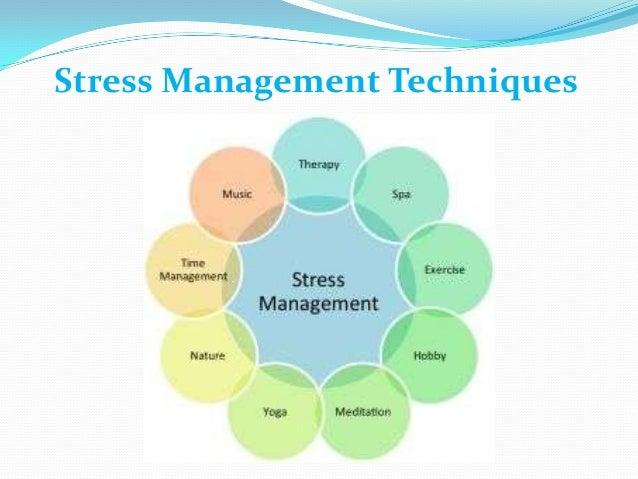 managing stress for management skills subject essay