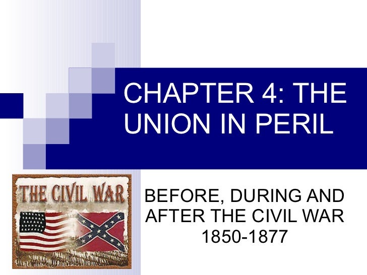 Causes of the civil war through reconstruction