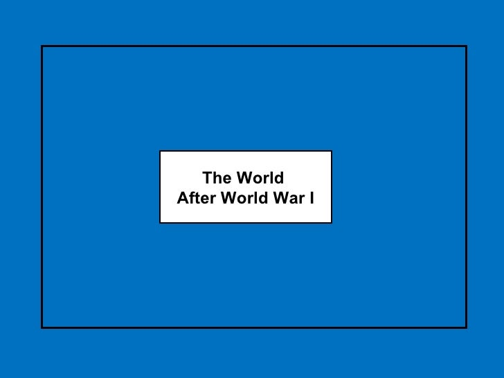 technology caused and ended wwi essay Dbq causes of world war i  but this feeling was not to last by the end of 1918, after four long years of war, european confidence was badly  deeper, underlying.