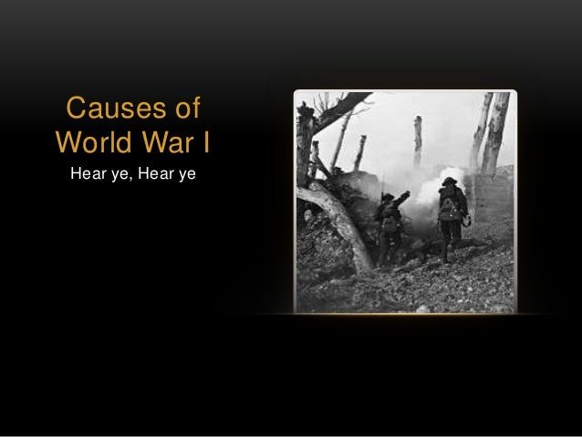 2 causes of world war 1 Unit 6 world war i1 : causes and 1 consequences (emergence of super powers) structure objectives introduction causes and outbreak of world war i1 621 the war ~kgins.