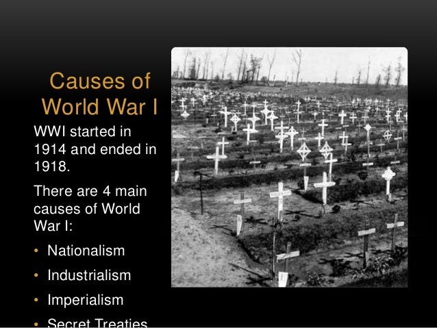 underlying causes of wwi One hundred years since its outbreak, the causes of world war i continue to be a   which is also in the opinion of some an underlying or structural cause in the.