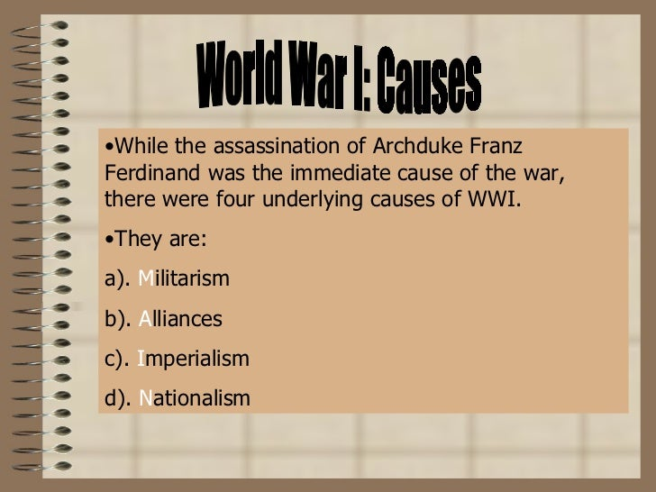 war world 1 essay World war i was a war fought from 1914 to 1918 the war ended when the central powers (originally called the triple alliance), the countries that lost, signed various.
