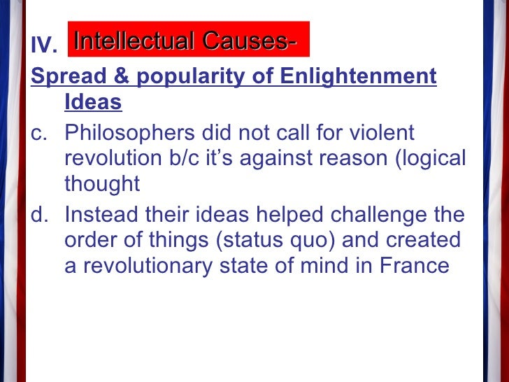 What were some things that triggered the french revolution?
