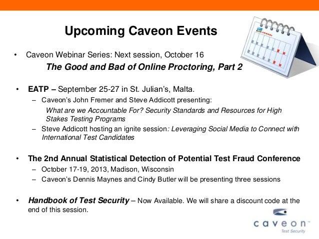 Caveon Webinar Series: Improving Testing with Key Strength Analysis
