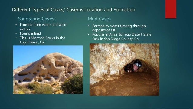 types of cave formations The virtual cave's page devoted to cataloguing the world's largest cave formations.