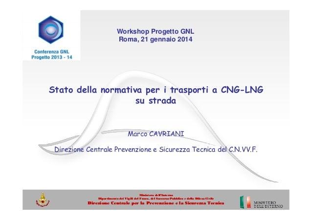 Cavriani Marco - Responsabile dei Rapporti internazionali e comunitari - Ministero delle Infrastrutture