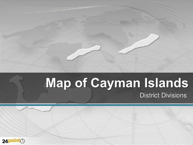 Cayman Islands: Editable PowerPoint Maps
