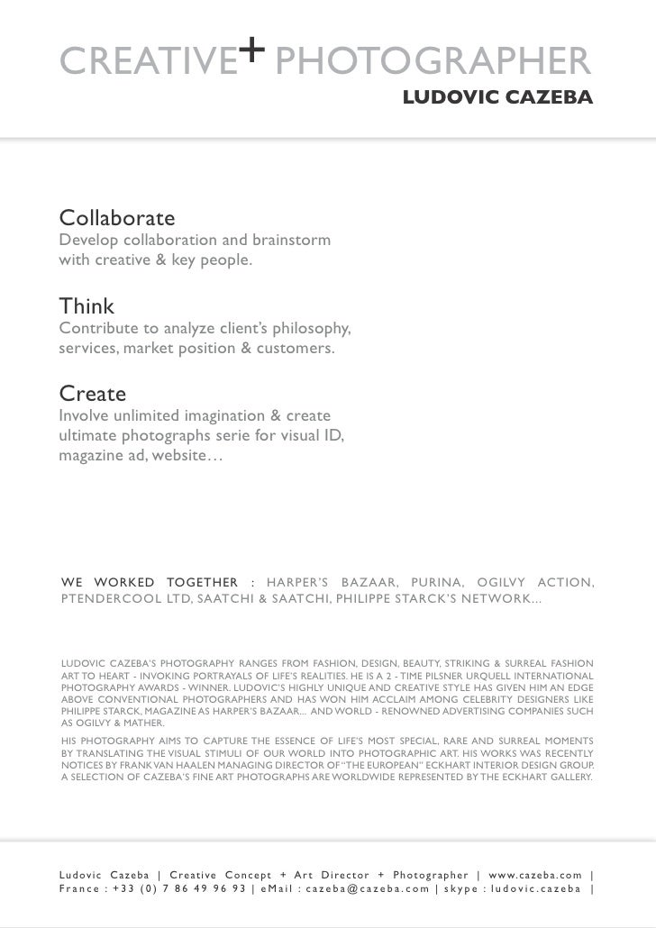 Cazeba Porfolio Web Version