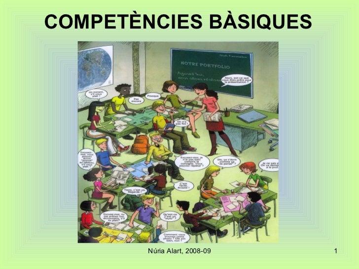 COMPETÈNCIES BÀSIQUES