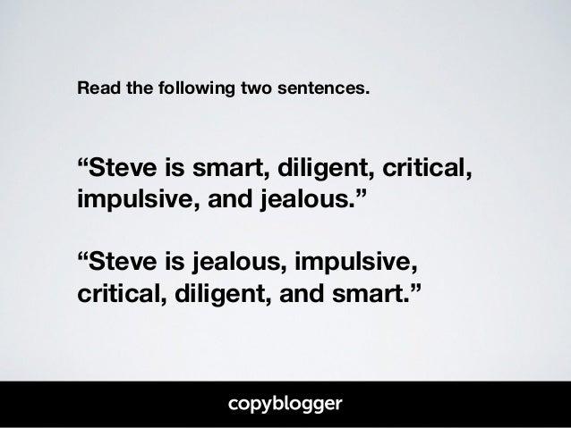 Smart sentence