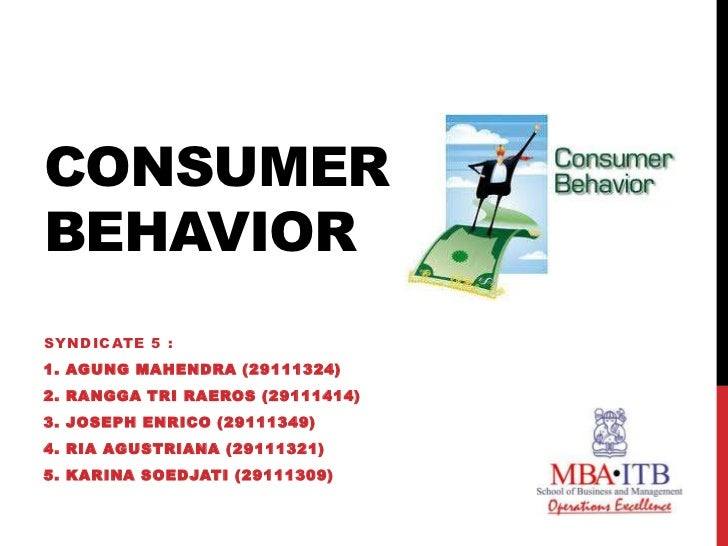 consumer behaviour mba case study