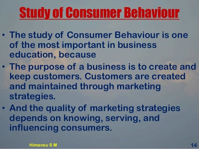 why study consumer behavior Consumer research is the methodology used to study consumer behaviour it takes place at every phase of the consumption process: before the purchase, during the purchase, and after the purchase.