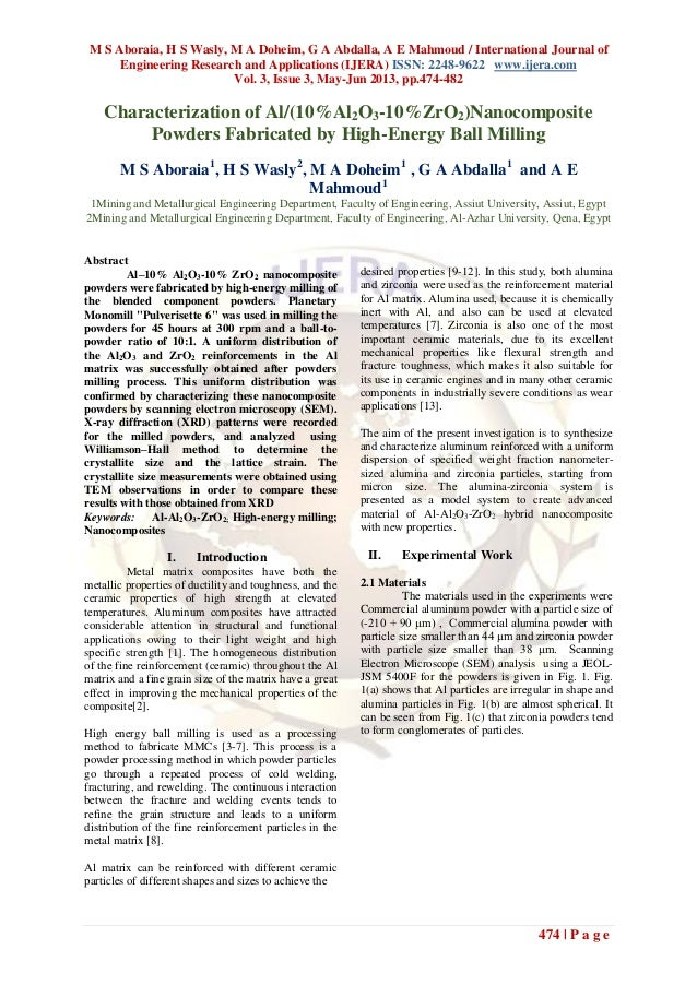 M S Aboraia, H S Wasly, M A Doheim, G A Abdalla, A E Mahmoud / International Journal ofEngineering Research and Applicatio...