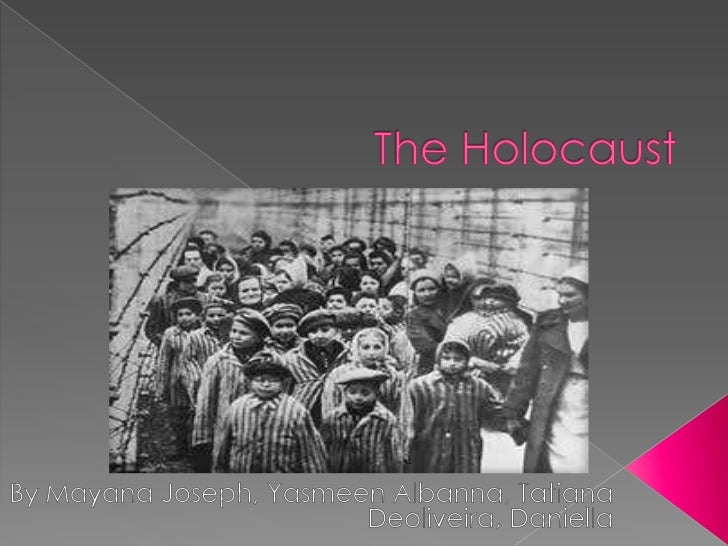 The Holocaust Notes