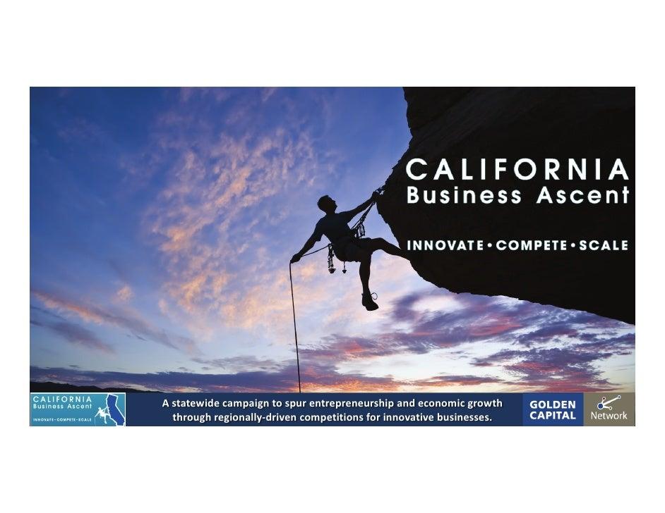 Astatewidecampaigntospurentrepreneurshipandeconomicgrowth   throughregionally‐drivencompetitionsforinnovative...