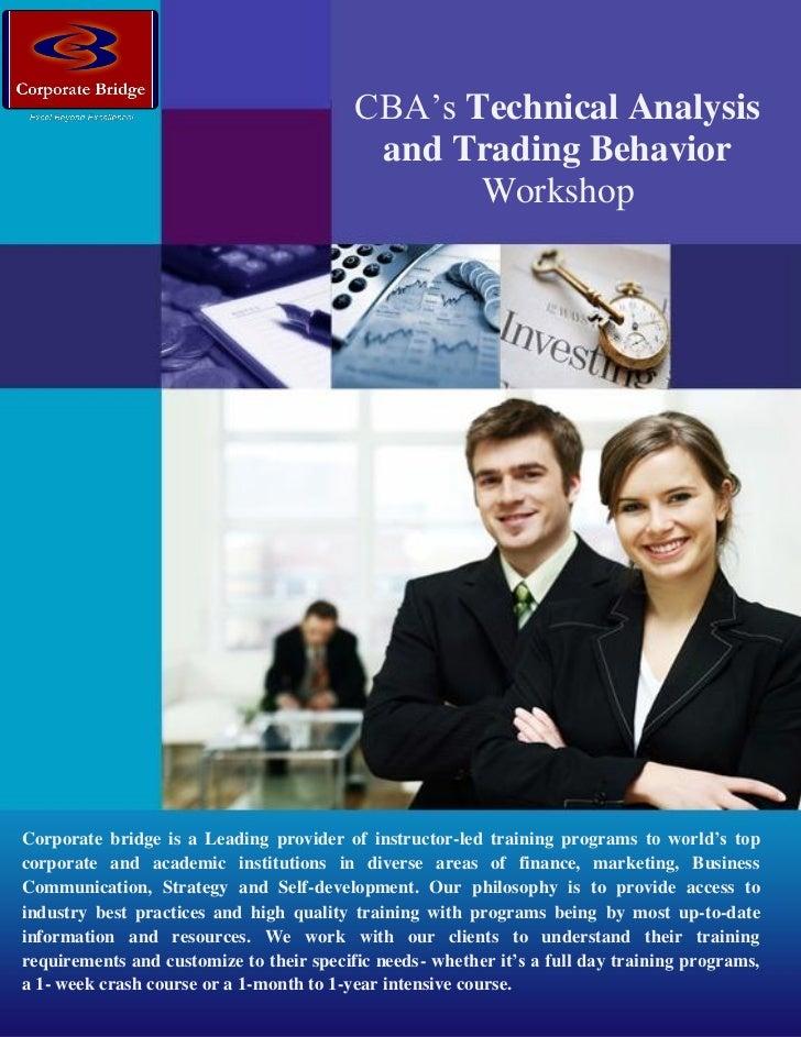 CBA's Technical Analysis                                            and Trading Behavior                                  ...