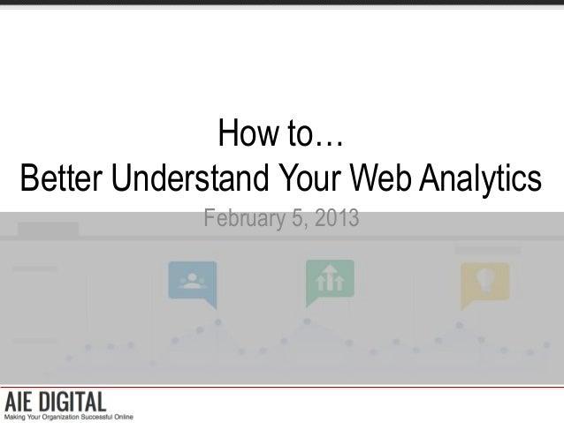 How to Better Understand Google Analytics