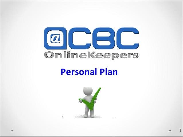 Personal Plan                        1