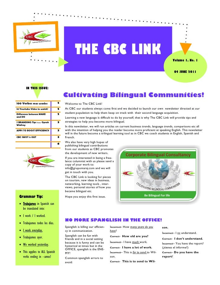 THE CBC LINK                                                                                                              ...