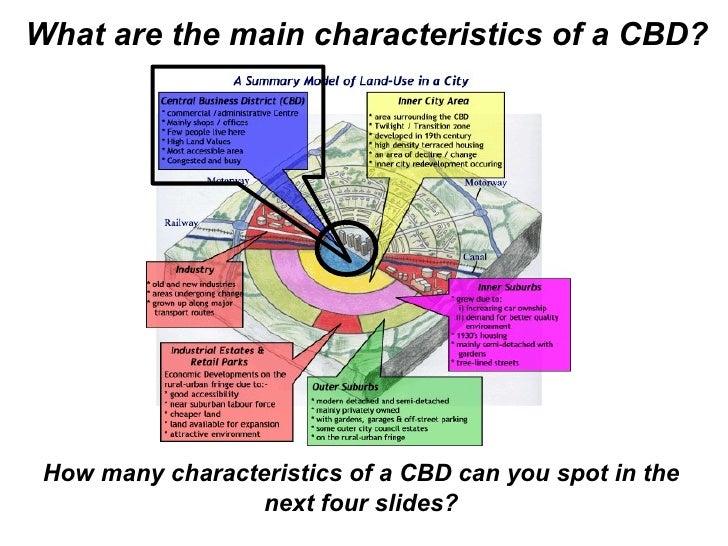 CBD Characteristics (Starter)
