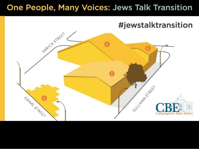 One People, Many Voices - Jews Talk Transition