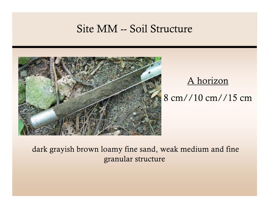 Soil analysis presentation for Soil structure