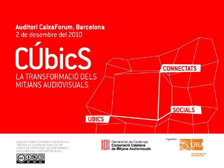 Jornada CÚbicS: Mitjans connectats - Joan Rosés