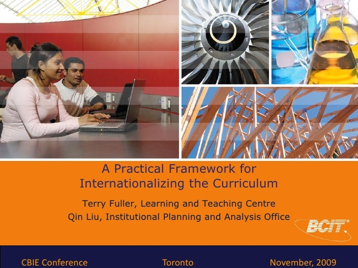 A Practical Framework for              Internationalizing the Curriculum              Terry Fuller, Learning and Teaching ...