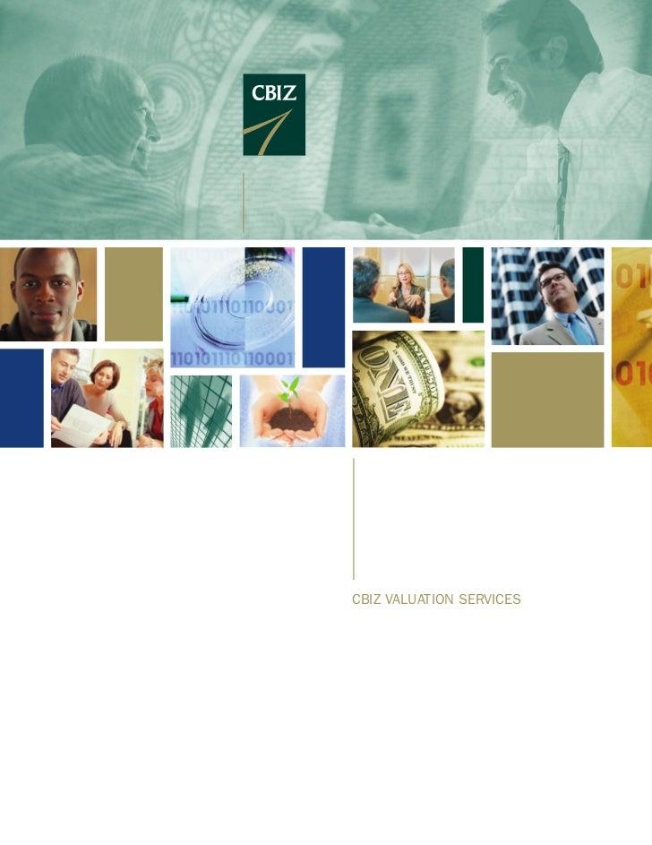 cbiZ valuation services