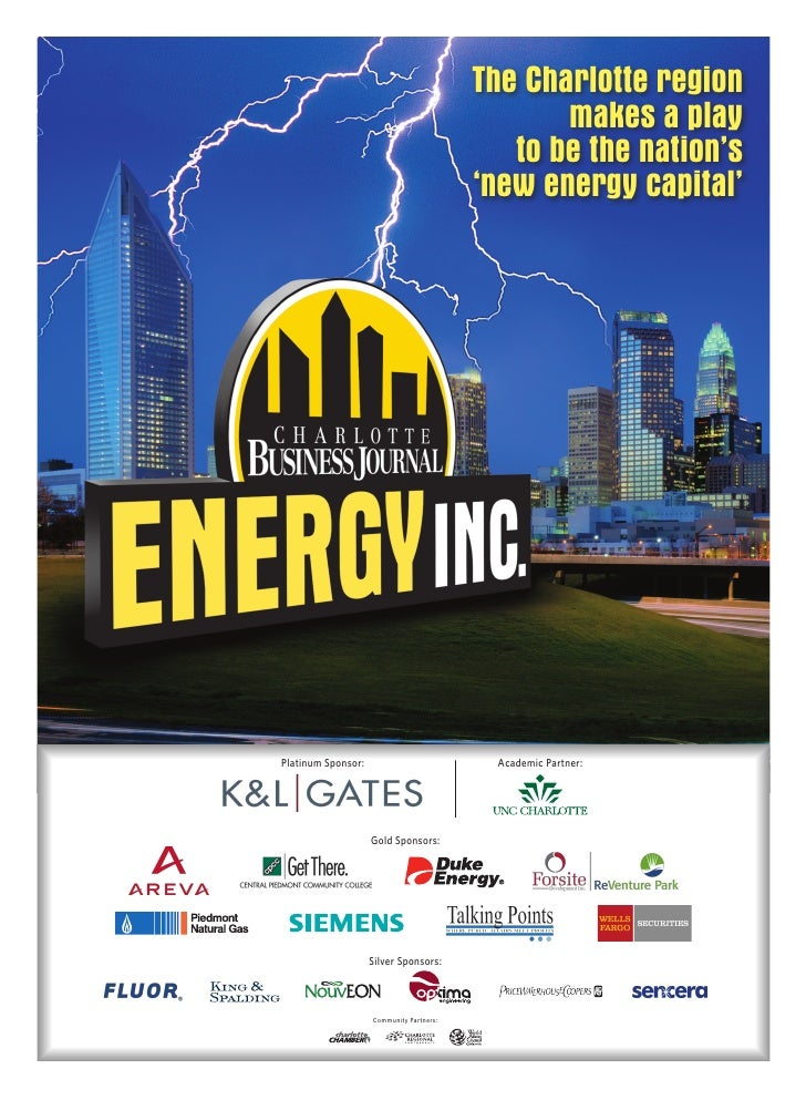 Charlotte Business Journal ENERGY INC.