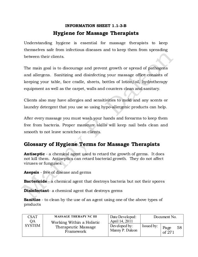 massage therapy research papers Research into the effectiveness of massage therapy, comprising a review of 740 existing australian and international, academic research papers, published between 1978 and 2008.