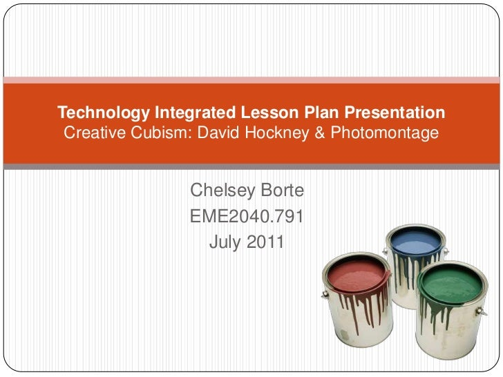 Technology Integrated Lesson Plan by Chelsey Borte