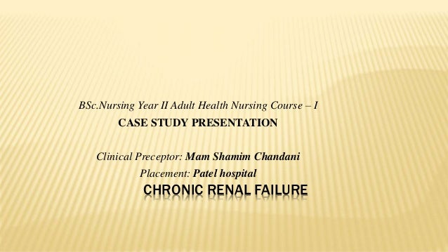case study diabetes mellitus and chronic renal failure A patient with acute renal failure associated with lactic acidosis as a result of  concurrent treat- ment with metformin is  case report a 58-yr-old female   included 10 years of type 2 diabetes mellitus treated with  diabetes mellitus,  and chronic renal failure16  month vs 12 month data in a clinical trial of  celecoxib jama.