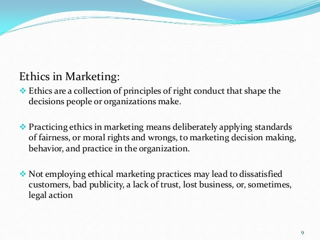 ethics in marketing essay Marketing ethics essay: good collection of academic writing tips and free essay samples you can read it online here.