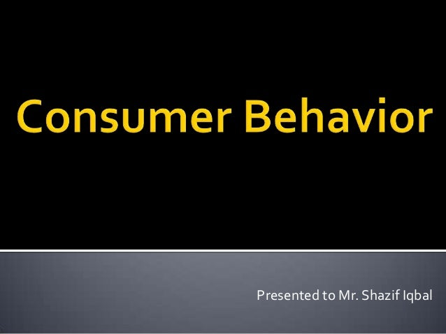 Different Consumer Behavior Theories on the Produccts