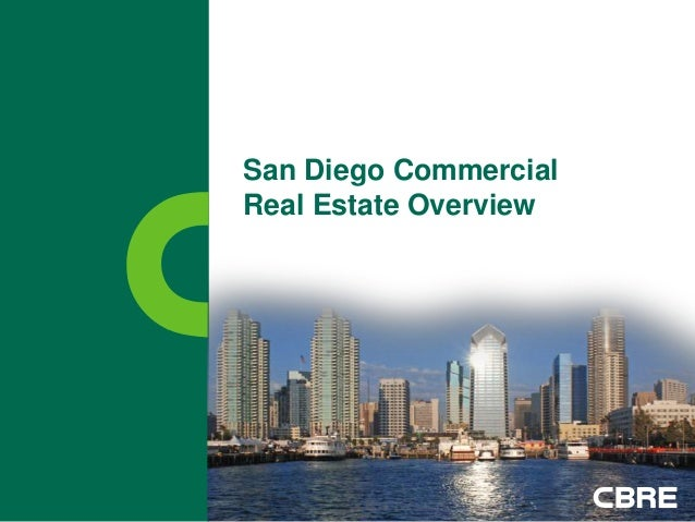 San Diego CommercialReal Estate Overview
