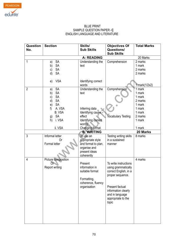 english a2 coursework mark scheme