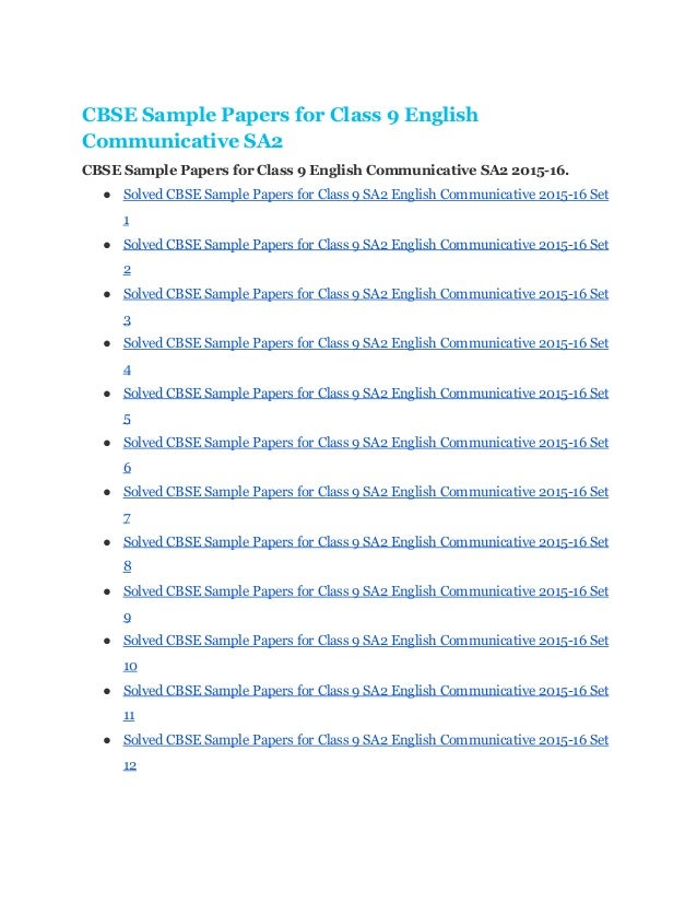 english communicative sample paper i for 1 english ( communicative) sample paper-i subject code: 101 time: 3 hours m marks: 100 this paper consists of four sections section a- reading 20 marks section b- writing 30 marks section.