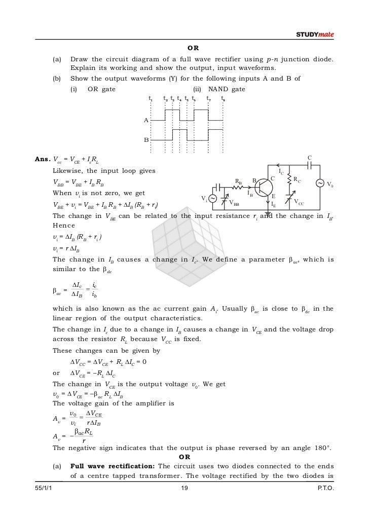 Circuit Diagram Physics Draw The Circuit Diagram