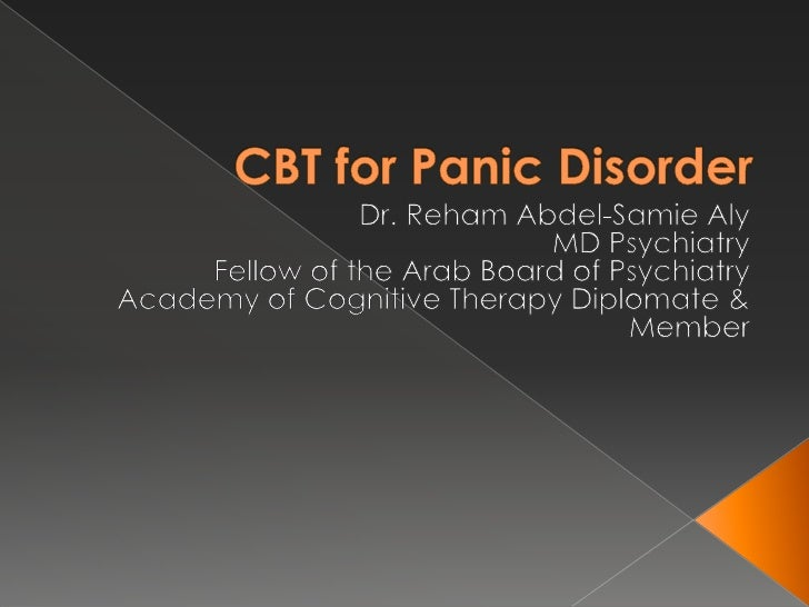 Case Study - Panic Disorder - Term Paper